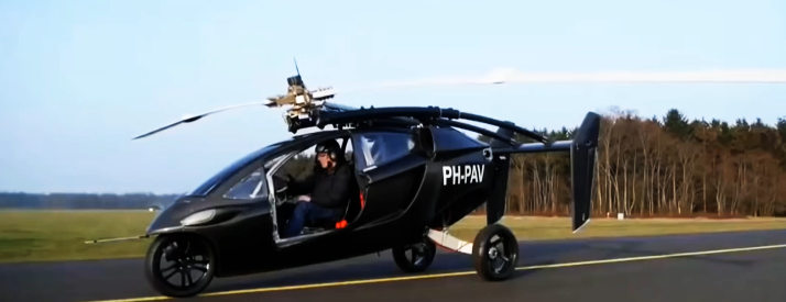 01 Pal-V One voiture volante