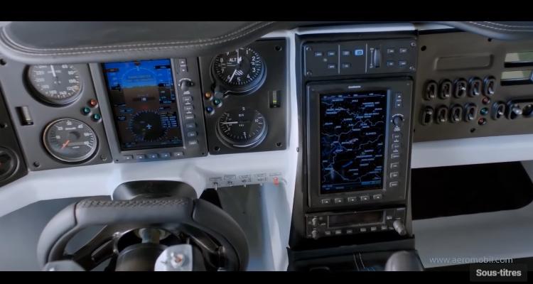 12 Aeromobil 3.0 voiture volante – cockpit