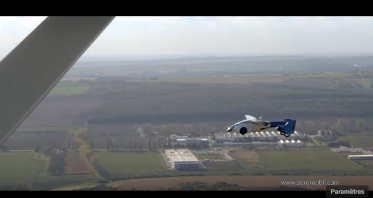 13 Aeromobil 3.0 voiture volante – en vol!
