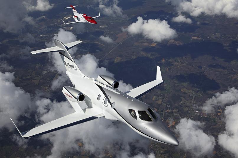 01 Honda jets privés en formation