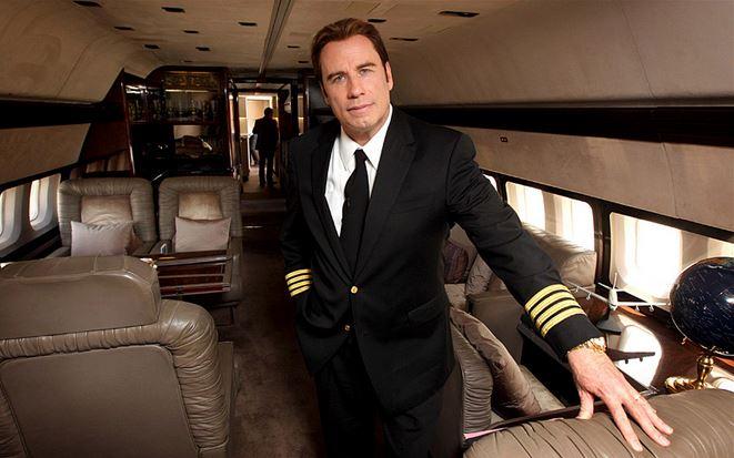 01 John Travolta – Boeing 707, Bombardier Challenger 601, Boeing 727 et 3 Gulfstream jets