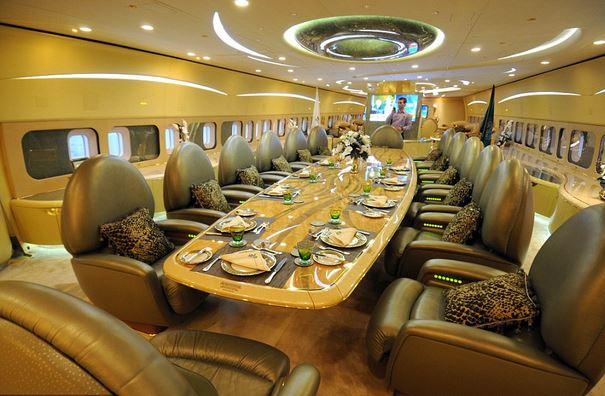 14 Saudi Prince Al Waleed Bin Talal Al Saud – Boeing 747