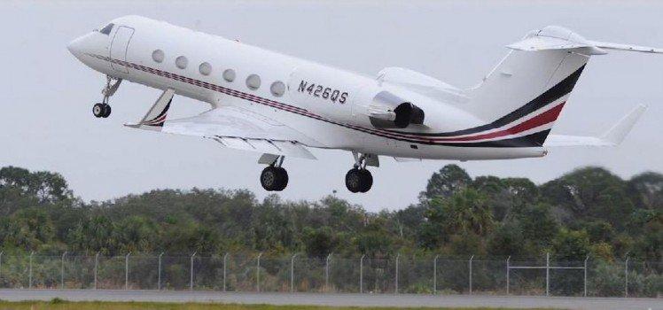 06 Tiger Woods – Gulfstream G550