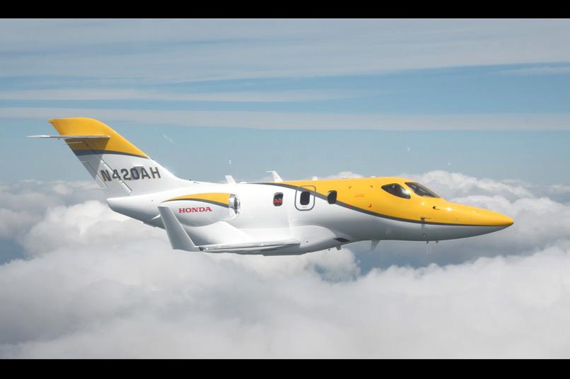 02 Honda jet privé en vol