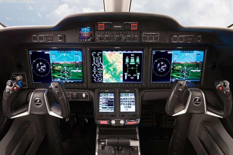11 Honda jet privé – cockpit