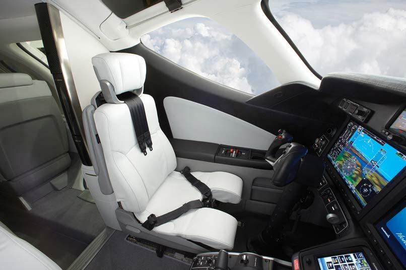10  Honda jet privé – la cabine