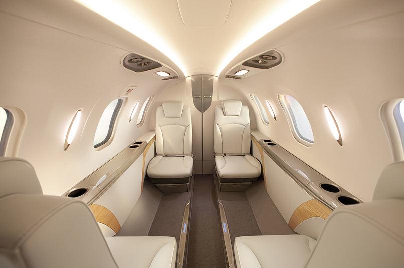 13 Honda jet privé – interieur