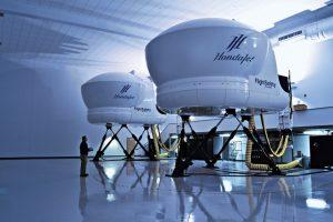 15 Simulateur de vol Honda jet