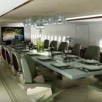 01 - Prince Al-Waleed bin Talal's A380 - intérieur