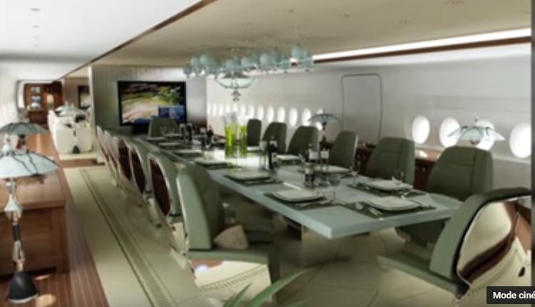 01 – Prince Al-Waleed bin Talal's A380 – intérieur
