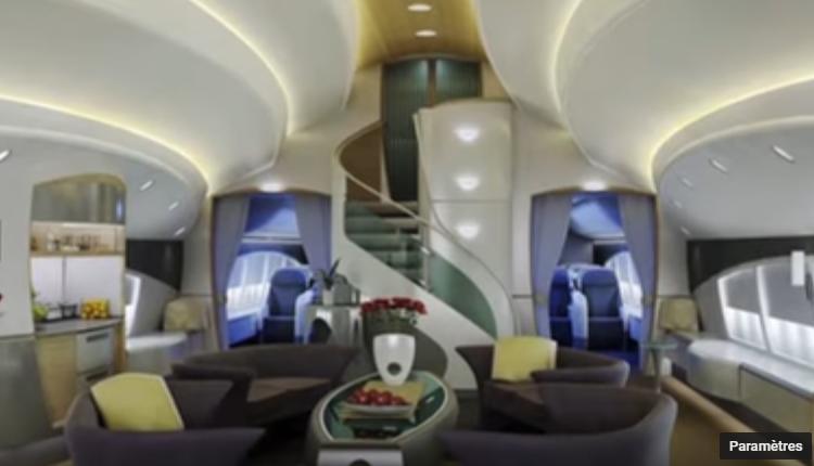 06 – Joseph Lau's Boeing 747-8 VIP – intérieur
