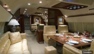07 - Tyler Perry's Gulfstream III - intérieur