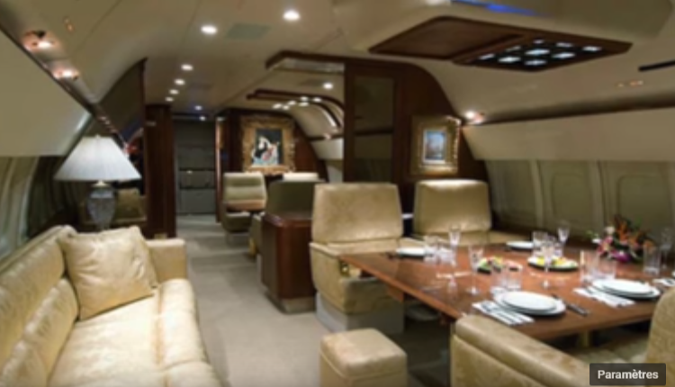 07 – Tyler Perry's Gulfstream III – intérieur