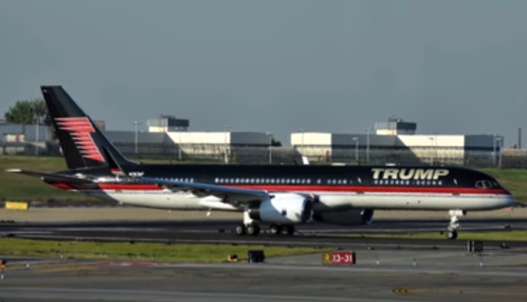 08 Donald Trump – Boeing 757 – $100 millions