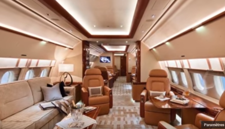 09 – Airbus A319 Corporate Jet – $80.7 million – intérieur