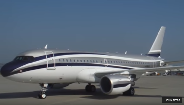 09 – Airbus A319 Corporate Jet – $80.7 million