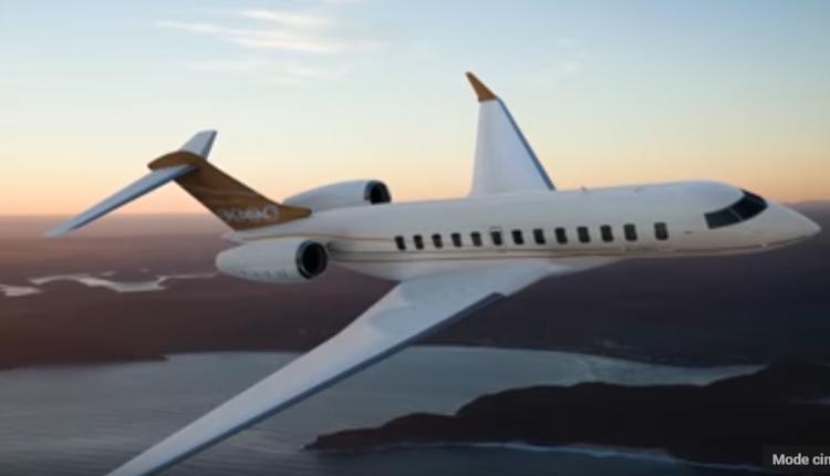 10 Le Bombardier Global 8000 – jet privé de Céline Dion (2)