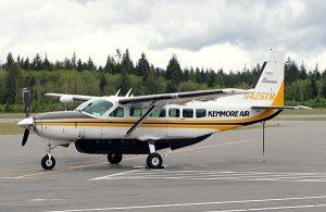 Cessna C208 Caravan - hélice avec moteur à pistons