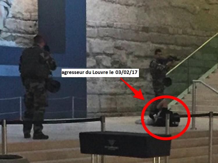 attaque au Louvre