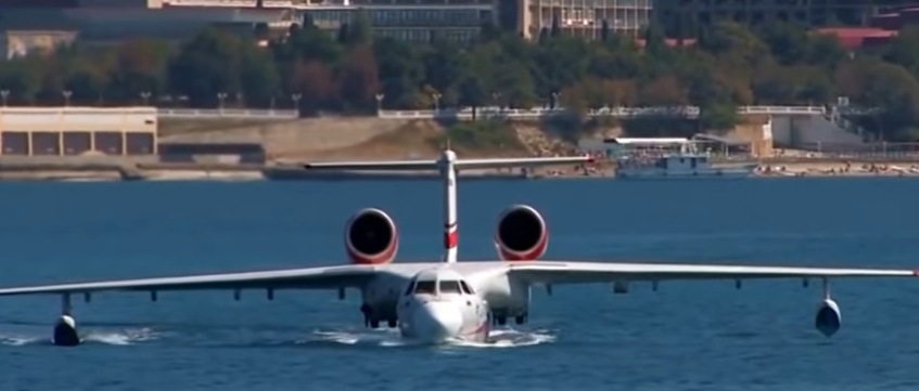 Hydroplane Beriev Be-200 Altair