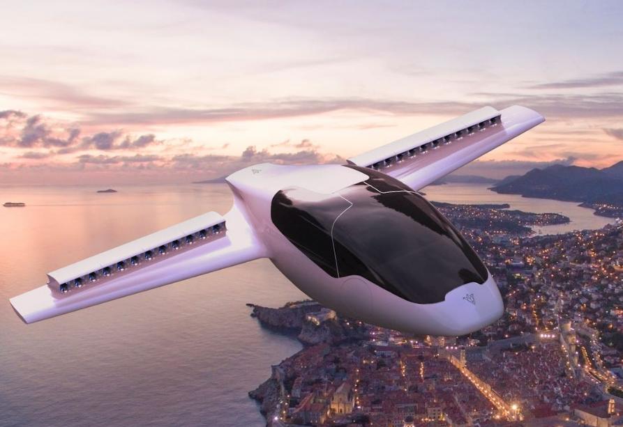 voiture volante Lilium Jet