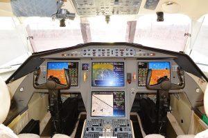 Jet privé FALCON 900DX-cabine