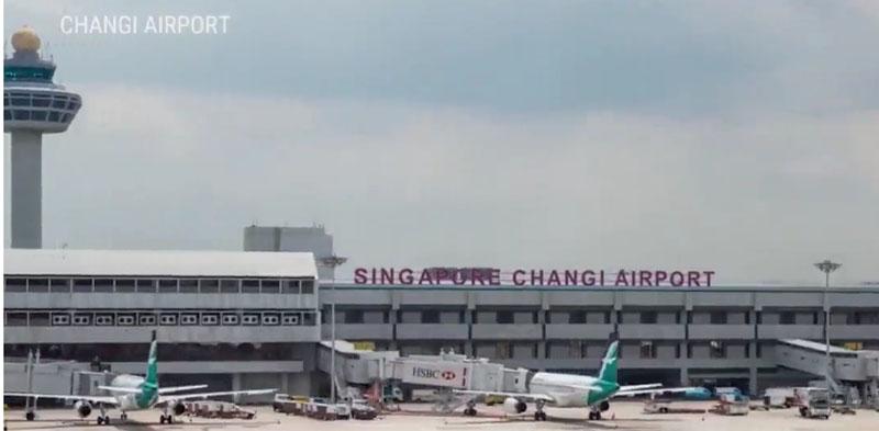 aéroport Changi de Singapour