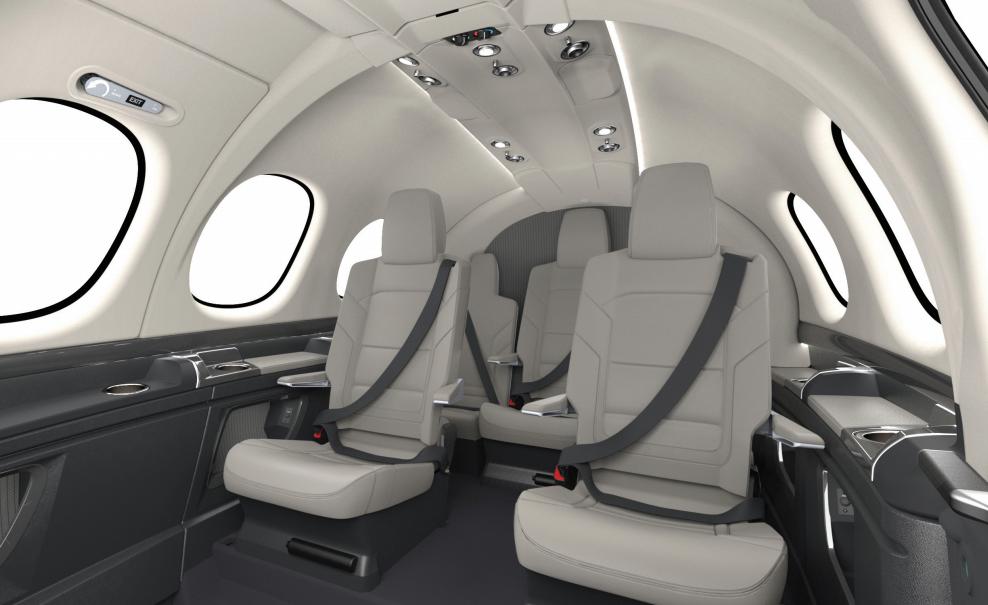 Cirrus Vision Jet - intérieur