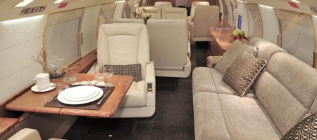 Gulfstream GIV - intérieur