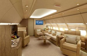 Airbus A319 Corporate Jet - les clients peuvent opter pour une configuration de loisirs