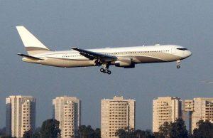 Boeing 767-33A-ER Private Jet - €150 millions - de Roman Abramovich, transporte jusqu'à 409 personnes, équipé avec système antimissile
