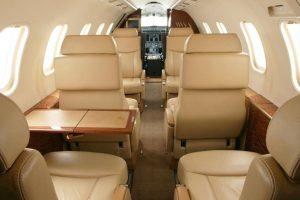 Bombardier · Learjet 40 - intérieurs