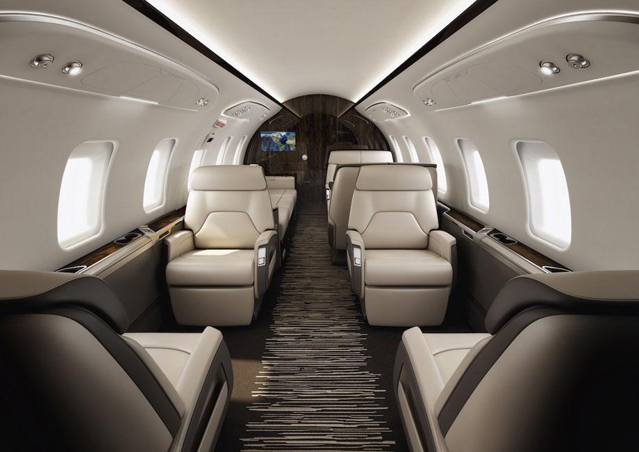 Bombardier Challenger 650, capacité dix personnes, 22 millions d'euros