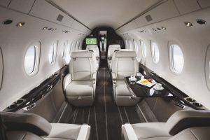 Cessna Citation Longitude - sa cabine offre beaucoup d'espace et lumière