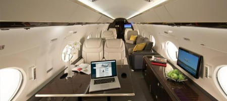 Gulfstream G650 - intérieur