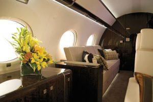 Le Gulfstream G650 à la cabine plus longue sur le marché, pour 58 millions d'euros