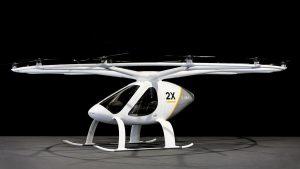 Le Volocopter, 1ère voiture volante à voler sur une ville en 2017