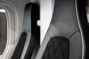 Le Volocopter, 1ère voiture volante - sièges