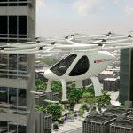 Le Volocopter, 2ème voiture volante à voler sur une ville en 2017
