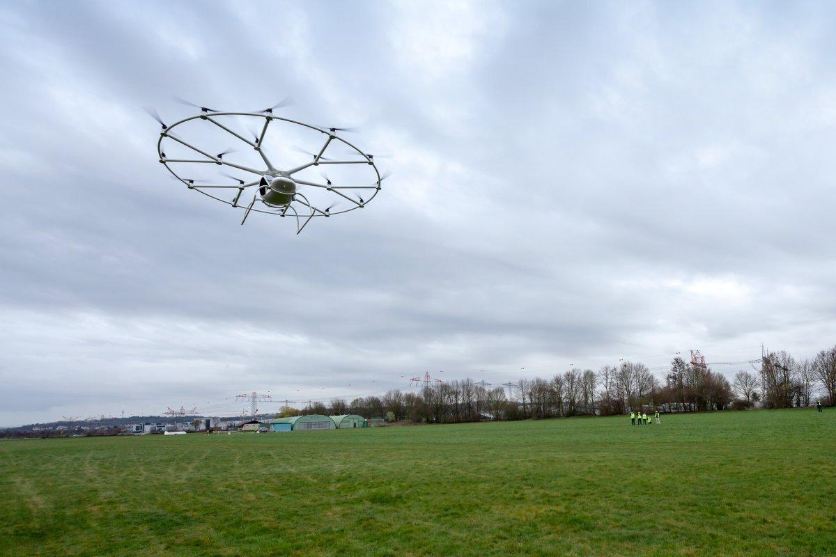 Le Volocopter en vol – 2