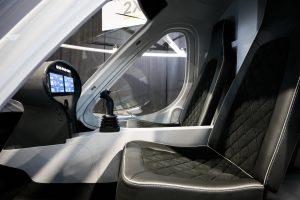 Le Volocopter - intérieur