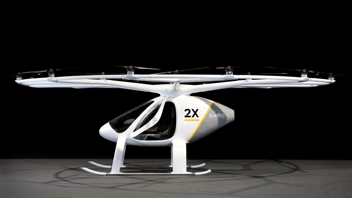 Le Volocopter voiture volante