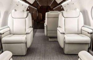Gulfstream G-650 peut accueillir 18 personnes dans un luxe raffiné