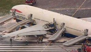 BA038 777 Crash suite à la défaillance des moteurs