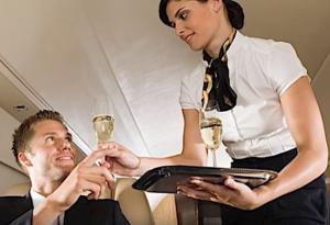 consommer des boissons alcoolisées sur l'avion