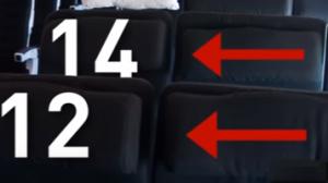 la rangée numéro 13 manque