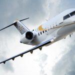 Essai en vol du jet privé Bombardier Challenger 650