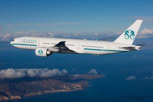 Boeing 777-200ER de Crystal