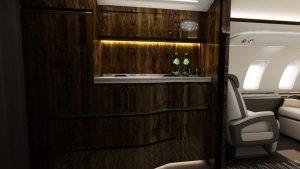 couloir - photo courtoisie de Bombardier