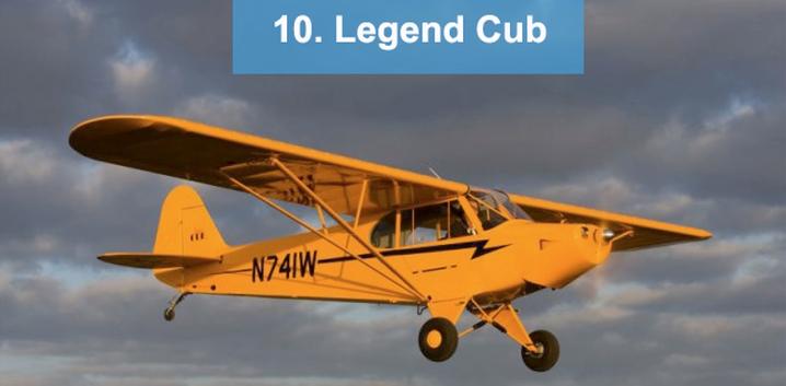10. Legend Cub